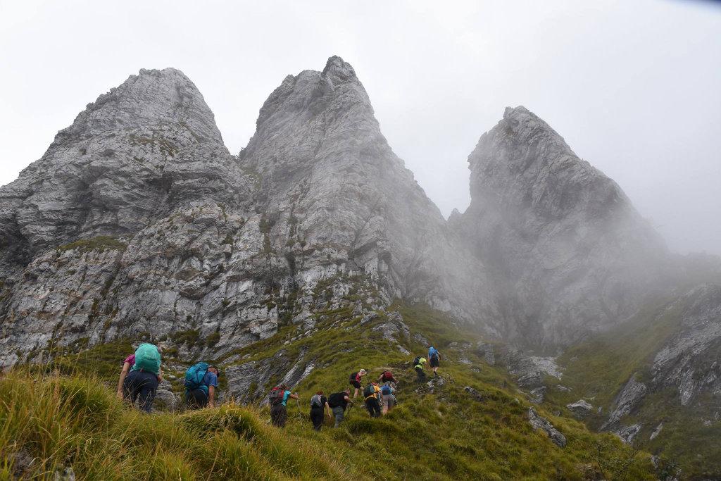 Monte Corchia dal canale del Pirosetto