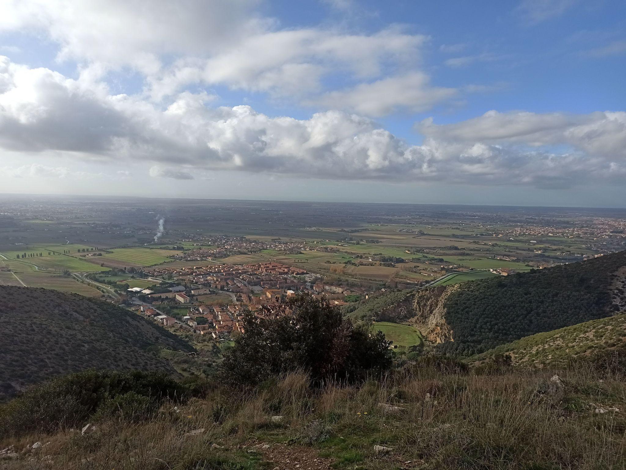 Monte Faeta dal sentiero Lavinia