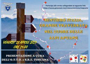 Sentiero Italia, grande traversata nel cuore delle Alpi Apuane