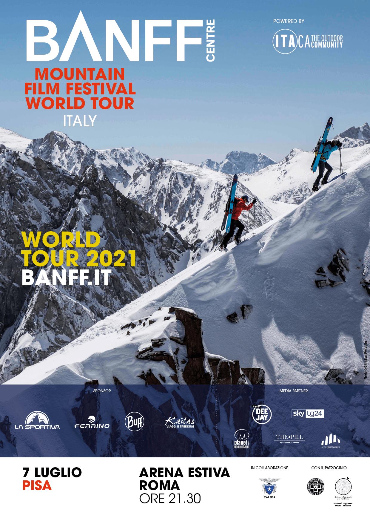 Read more about the article Banff Centre Mountain Film Festival World Tour – Pisa