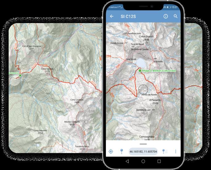Read more about the article La cartografia digitale del Sentiero Italia da portare sempre con te